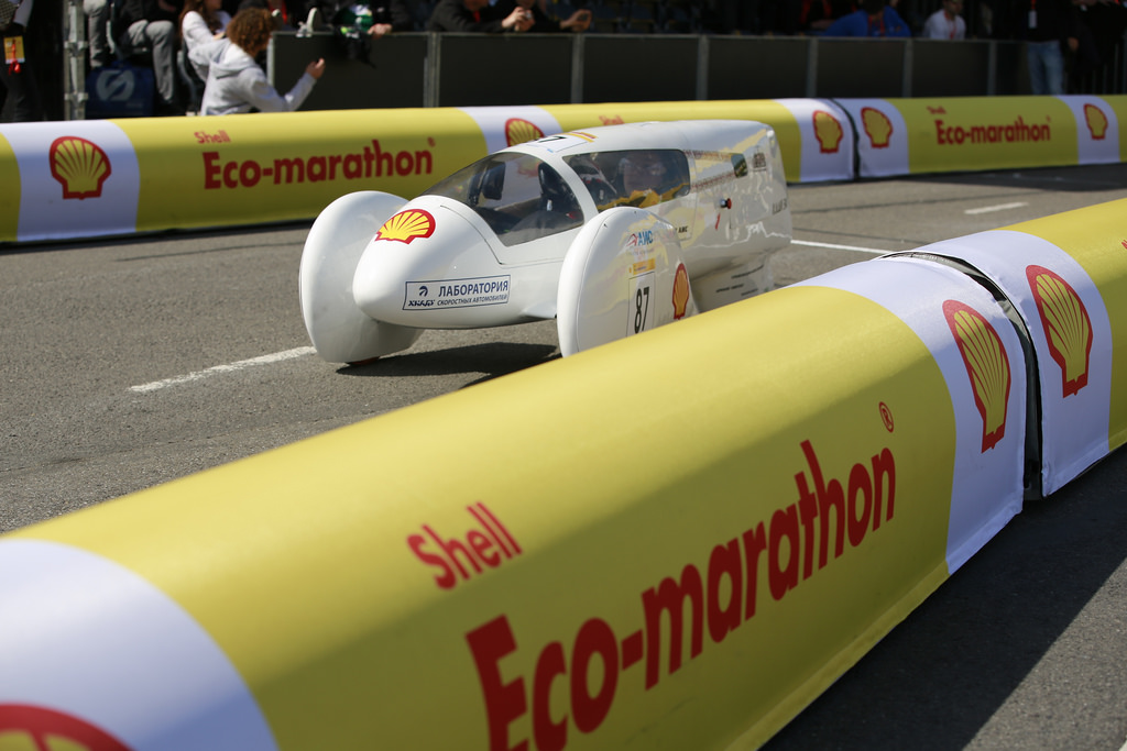 ЛСА ХАДИ: Shell Eco-marathon Europe 2014